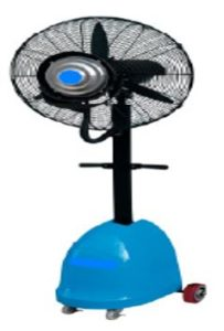 Portable mobile mist fan rental