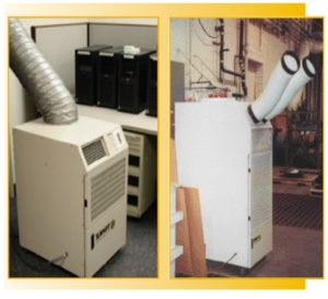 temporary cooling rental for server rooms